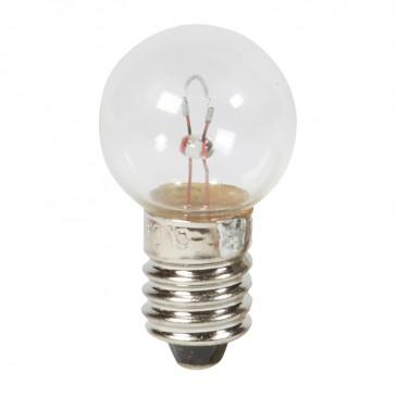 Lamp - for emergency lighting luminaires - 6 V - 0.9 A - 5.5 W(E10)