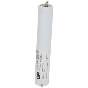 Nickel Cadmium battery - for emergency lighting luminaires - 3.6 V - 1.5 Ah