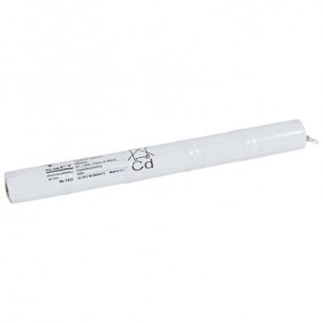 Nickel Cadmium battery - for emergency lighting luminaires - 6 V - 1.6 Ah