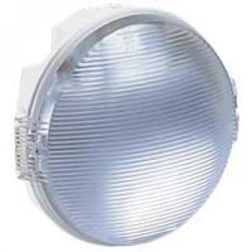 Bulkhead light Koro - IP54 - IK08 - round - 100 Wincandescent - E27 - white