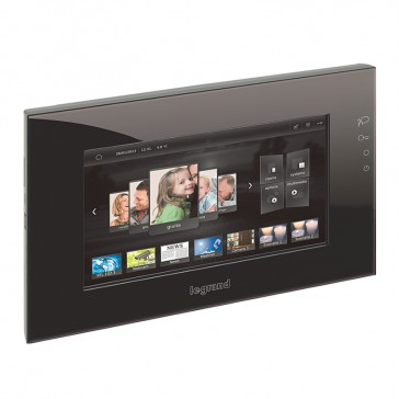 "10"" screen MyHOME BUS - with capacitive display - black"