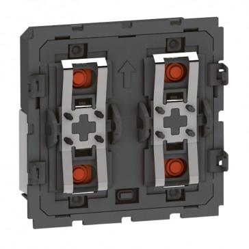 BUS micropush basic control mechanism Arteor - 2 modules