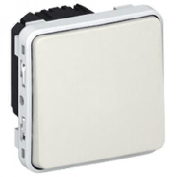 Switch Plexo IP55 - 2-way - 10 AX 250 V~ - modular - white