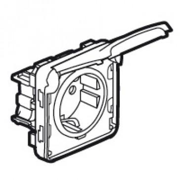 Socket outlet Plexo IP55 - German standard - 2P+E screw terminals- modular - white