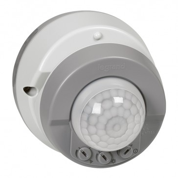 Movement detector Plexo IP55 - detection angle 360° - surface mounting - grey