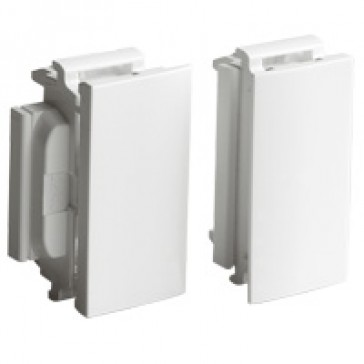 Soluclip accessory - for installation with flexible cover snap-on trunking