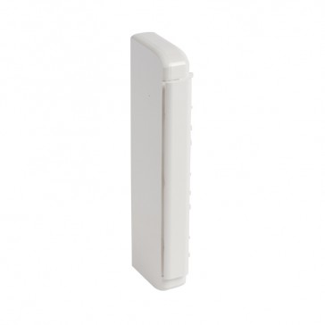 End cap - for 50x180 flexible cover snap-on DLP trunking - antimicrobial