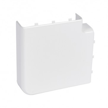 Flat angle 90° - for 50x180 flexible cover snap-on DLP trunking - antimicrobial