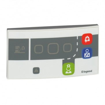 Door unit Mosaic-illuminated call indicators-BUS/SCS-4 modules-Antimicrobial