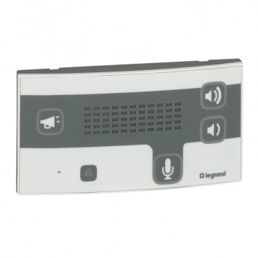 Interphone door unit Mosaic - for room and nurses's station - Antimicrobial