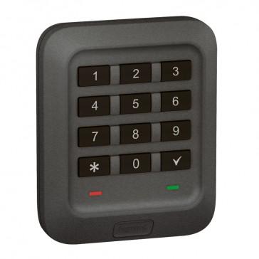Outdoor backlit coded keypad Soliroc - flush-mounting - IK07 - IP65