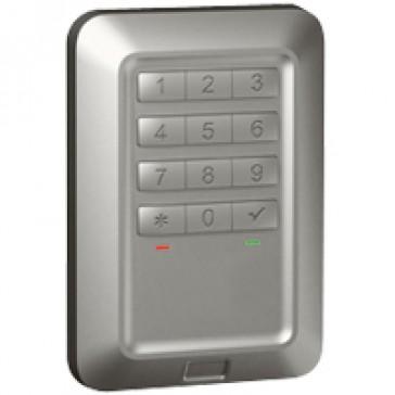 Outdoor backlit coded keypad Soliroc - flush-mounting - IK10-IP55