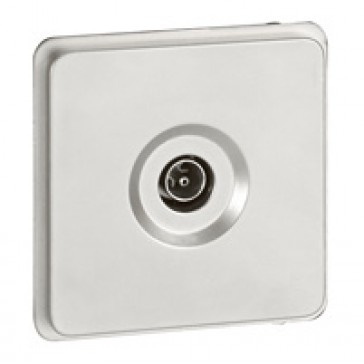 TV socket Soliroc - male - IP20 - 0-2400 MHz
