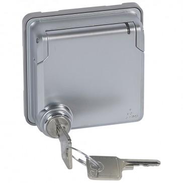 Adaptor Soliroc - for Arteor functions - IP55 - IK10 - lockable cover