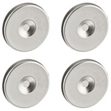 Replacement blanking plug Soliroc - removed only by drilling - set of 4
