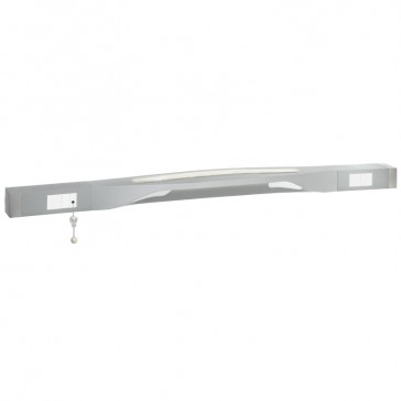 LED bedhead strip reading lighting - pull cord switch - 1.40 m - antimicrobial