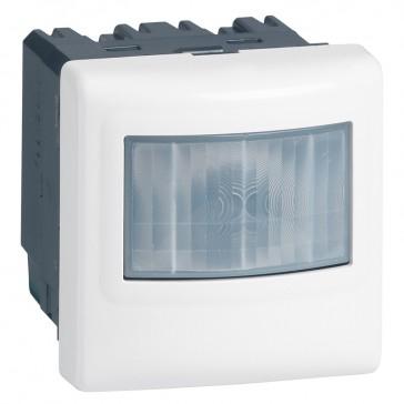 BUS/KNX motion sensor Mosaic - IP41 - 180° IR - range 8 m - white