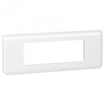 Plate Mosaic - 6 horizontal modules - white