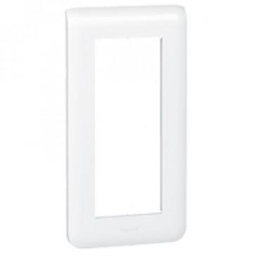 Plate Mosaic - 5 vertical modules - white