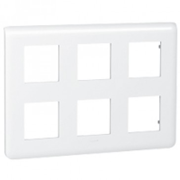 Plate Mosaic - 2 x 3 x 2 modules - white