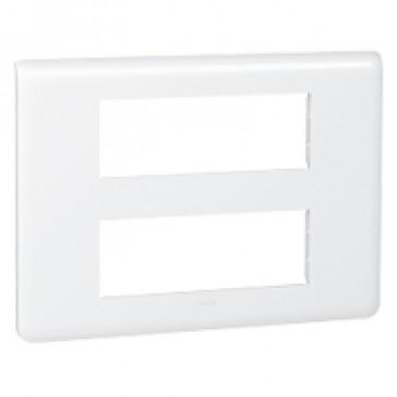 Plate Mosaic - 2 x 6 modules - white