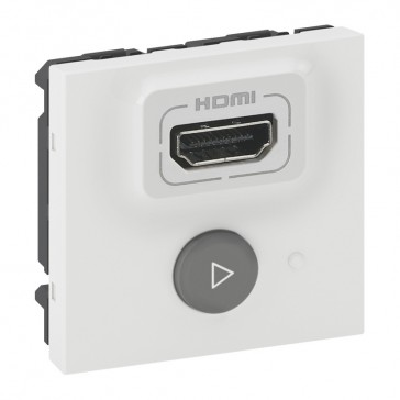 Selector switch transmitter Mosaic for multiparticipant HDMI audio/video projection - 2 modules