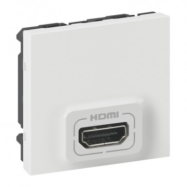 Receiver Mosaic for multiparticipant HDMI audio/video projection - 2 modules