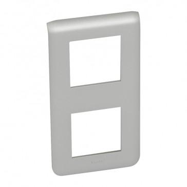 Plate Mosaic - 2 x 2 vertical modules - alu