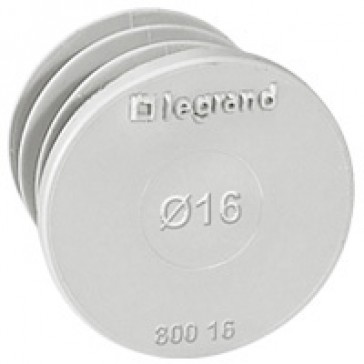 Blanking plate kit EcoBatibox - Ø 16 mm - dry partitions