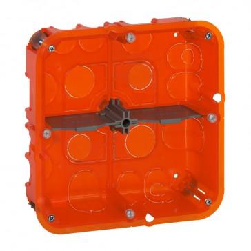Flush mounting box Batibox - depth 50 mm - 142 x 142 mm - multi-material