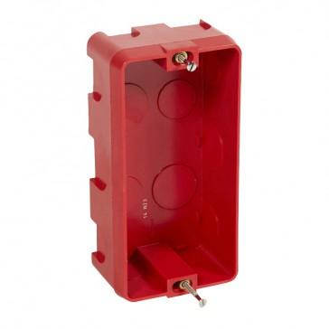 Flush mounting box Batibox - for shaver socket depth 50 mm - masonry