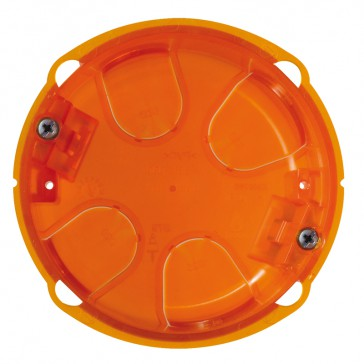 Multimaterial simple Batibox flush-mounting box for floor socket - Ø 80 mm
