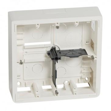 Surface-mounting box Mosaic- 2x5, 2x2x2 modules / lighting env. cont. - depth 46 mm