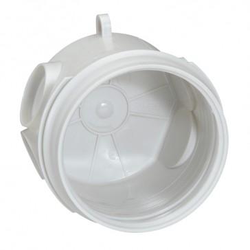 Flush mounting box Batibox - 1 gang - depth 58 mm - concrete
