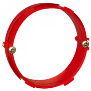 Ring Batibox - for 1 gang box - Ø64 mm - concrete