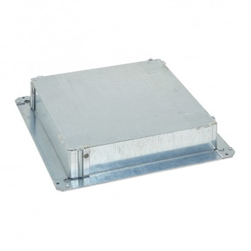 Finishing kit for waxed concrete for 16/24 modules standard version floor boxes