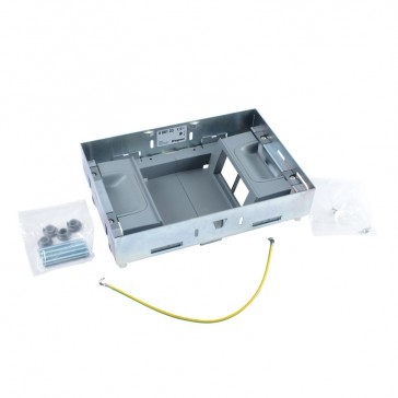 Support kits for flush floor boxes - for sockets in vertical position - 8 modules