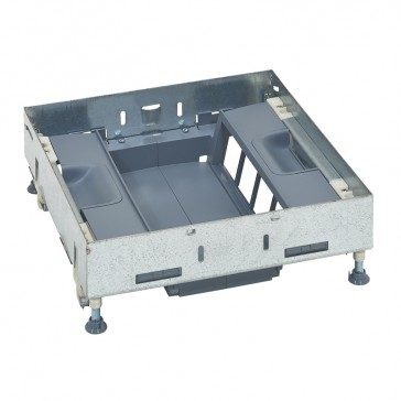 Support kits for flush floor boxes - for sockets in vertical position - 16 modules