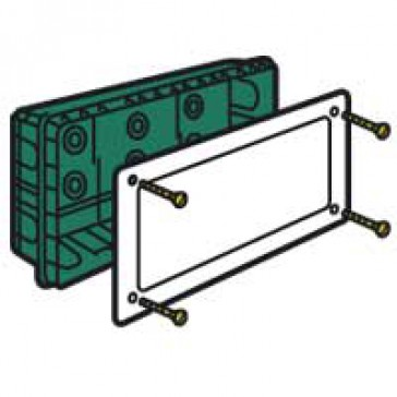 Junction box Batibox - large capacity - 390x245x70 mm - for masonry