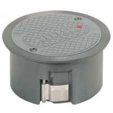 Floor access grommet - aluminium - for raised floor - IP20 - IK08
