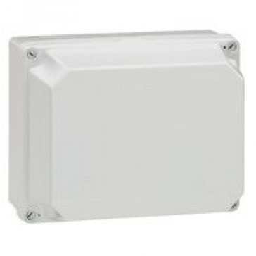 Industrial box - plastic - IP55 - IK07 - opaque cover - 220x170x140 mm