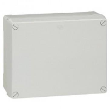 Industrial box - plastic - IP55 - IK08 - opaque cover - 310x240x160 mm
