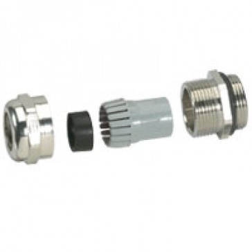Cable glands metal - IP68 - ISO 25 - clamping capacity 8-16 mm