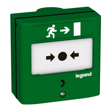 Device for emergency exit - 1 NO/NC - 5 A - 24 V= - RAL 6016