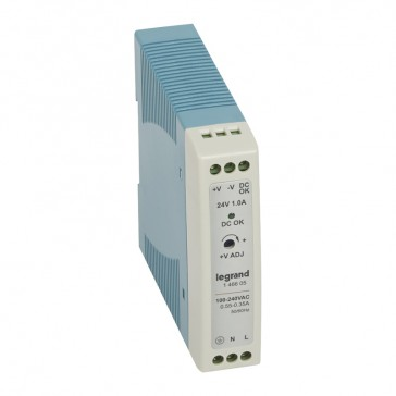 Stabilised switched modules power supply - single-phase - 20-60 W-output 24 V= -24 W