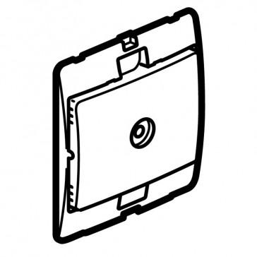 TV socket Mallia - female terminal socket - silver