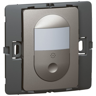 Automatic switch Mallia - with IR movement detector - dark silver