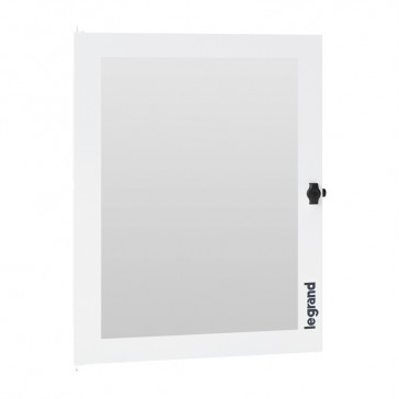 Glass door for XL³ S 160 cabinets with 4x24 modules