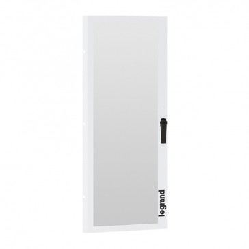 Glass door for XL³ S 630 cabinets - 24 modules wide - for cabinets with faceplate height 1350 mm