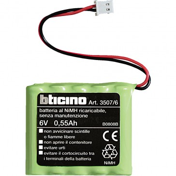 Battery 7.2 V for temperature control central unit MyHOME